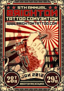 tatttooine:  tattoome:  28-29 January 2012 Brighton http://www.brightontattoo.com/  Reblogging because I really, really like this poster. Excellenttt