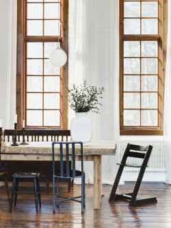 A home in Sweden. Photo by Patrik Hagborg for Sköna Hem.