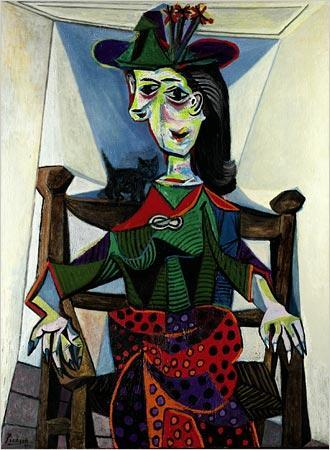 Dora Maar Au Chat - Picasso As far as art and antique valuations go, this one would be pretty expensive!