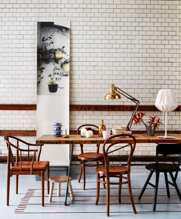 By stylist Nanna Lagerman and photographer Idha Lindhag for Swedish ELLE Decor.