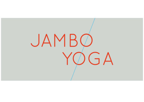 Draft logo for a Yoga company based in Newcastle upon Tyne.