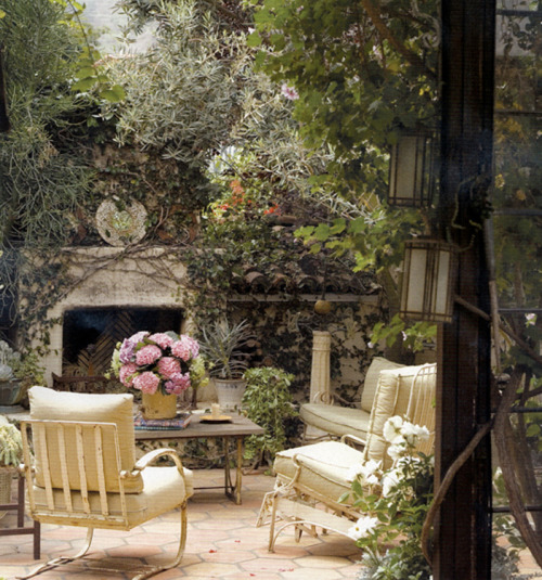 Overgrown taste by Sandy Koepke Interiors.