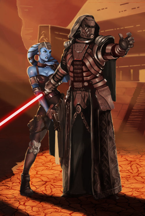 tiefighters:  The Old Republic Sith Juggernaut - by Max (tygodym) DeviantART || Shop