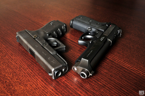 Glock & Taurus by Matthew Britton on Flickr.