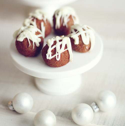 Gingerbread Truffle Pops by Daring Dish