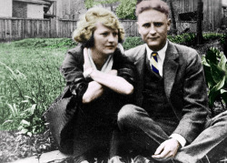 laurenjenae:  The Fitzgeralds (Zelda & Scott)