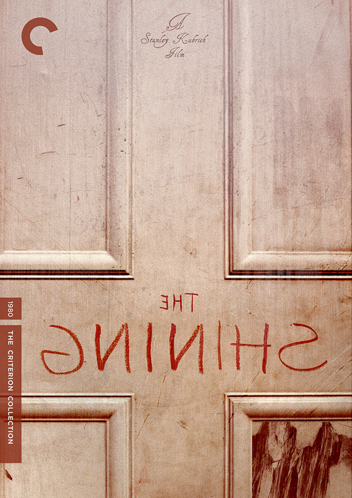 criterioncorner:gicreative:  The Shining (1980) Stanley Kubrick  Inspired by Fake Criterion Covers and pulled from Doomed to Be Awesome's Top Ten Awesome Horror Films, here's my sixth fake Criterion Collection Cover. My goal is to design the rest of the top ten list by the beginning of 2012, so keep an eye out for the final four.