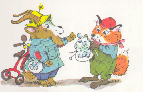 Richard Scarry Characters!!