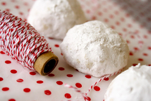 snowball cookies these were a christmas tradition growing up, my mom's favorite!