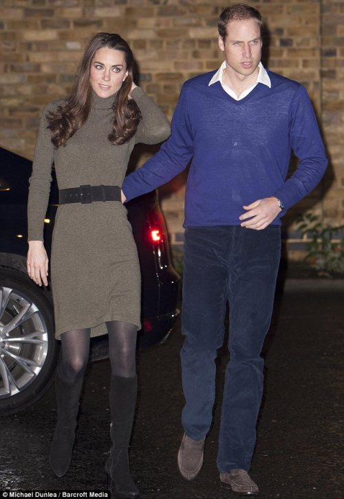 Two in the same night! williamandcatherine:  The Duke and Duchess of Cambridge visit Centrepoint's Camberwell Foyer