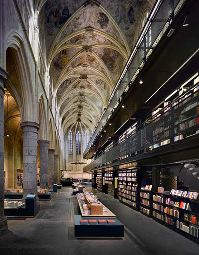 beanfield:  Bookstore Selexyz Dominicanen in Maastricht