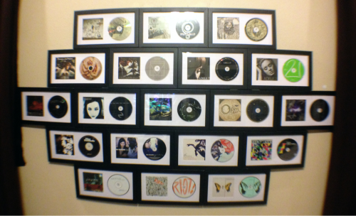Music = Life  I was finally able to place the final CD in my frames :D Now if only I could frame the Singles Club :P High-Res here http://db.tt/VUKsQTt2