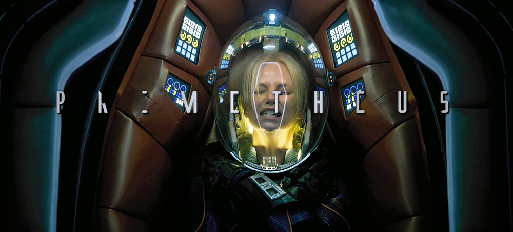 Charlize Theron as Meredith Vickers in Ridley Scott's Prometheus - from the first teaser trailer for his return to sci-fi.
