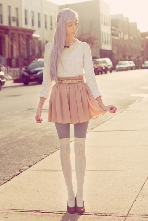 opiumpoppies:  http://lookbook.nu/look/2825689-Lilac-Braid-Lace-Collar