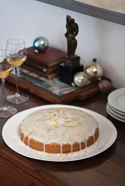 © Quentin Bacon Lemon-Poppy Seed Cake Recipe Contributed by Eugenia Bone Click here for full recipe