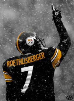 thonygo:  Roethlisberger Ben Snow (Revisited By Thony_GO)