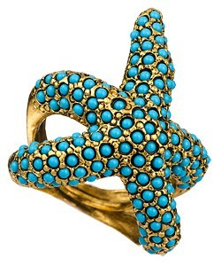 gypsybeachqueen:  starfish ring!! by Max and Chloe  Beach/boho! I always follow back! If you don't believe me, click and watch!