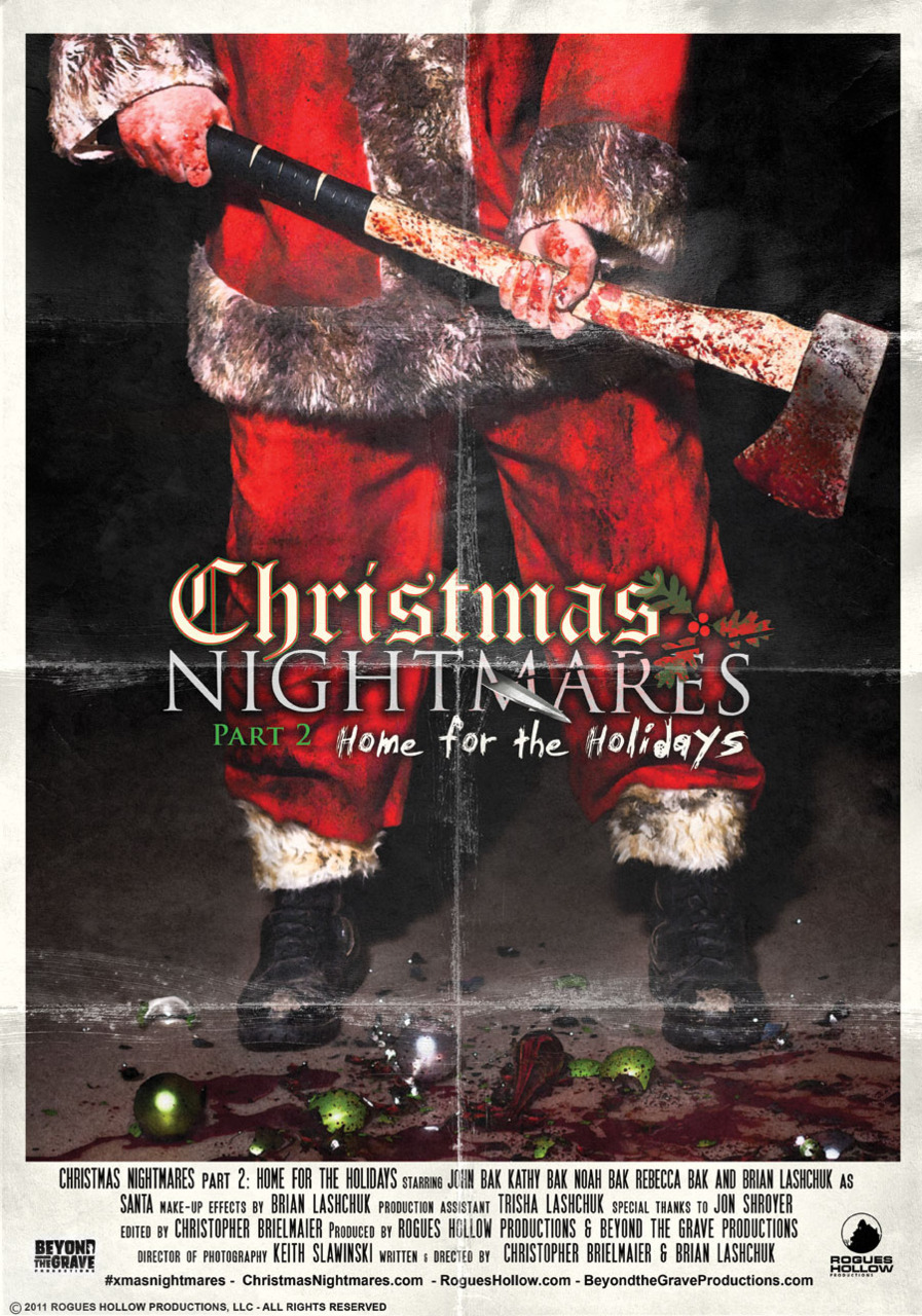 Christmas Nightmares 2: Home for the Holidays Poster