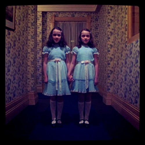 zooeydeschanel:  @Katyperry - you and me next Halloween? (Taken with instagram)  Hahaha I love thiss! Either for Halloween or…any day!