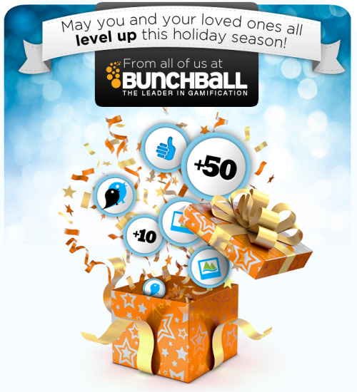 Happy Holidays from Bunchball!