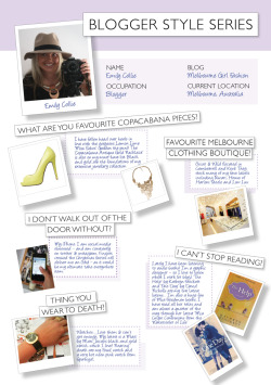 Excited to be featured on the PeepToe Blogger Style Series!