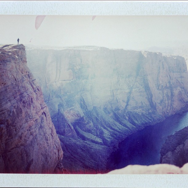 #polaroid / #grandcanyon  (Taken with instagram)