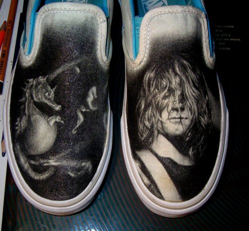kurt cobain vans by liliana08 on deviantart requested by lyssjadee. Thanks for the request! if you have a request for me, send it here