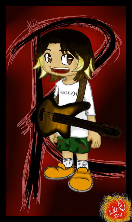 My (current) avatar. Made by yours truly. ^^ Click on it to get to my deviantART submission of the same artwork. :D