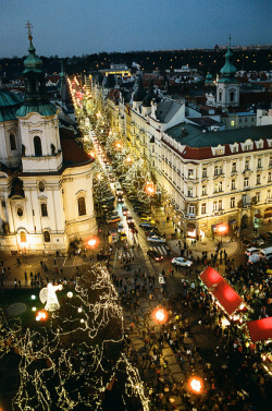 Xmas market in Prague by DoctorNo_34 on Flickr.