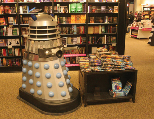 Dalek in a Bookshop