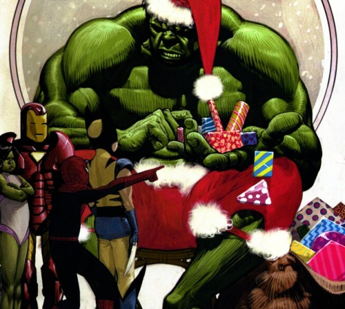 comicbookkissyface:  2006 Marvel Holiday Special