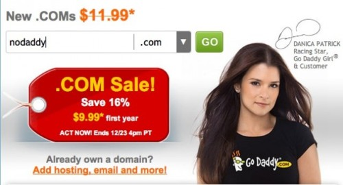 "GoDaddy faces all-out boycott over stated SOPA support Not a good day to be Danica Patrick. Spurred on by a Reddit thread earlier today (we mentioned it here), a snowballing boycott against the world's largest domain registar has picked up such tech-industry luminaries as Cheezburger Inc.'s Ben Huh and Y Combinator's Paul Graham. And Graham's Hacker News is currently loaded with GoDaddy-related posts tonight, including this post about how to extricate yourself from GoDaddy's service. But while the movement is certainly noble, it's one that could face a lot of trouble going forward. Here's a quick summary of the challenges boycotters may face going forward: Why they support SOPA GoDaddy has been one of the more vocal supporters of SOPA, as a statement they submitted to the House of Representatives makes clear: ""As much as some would like to paint a bleak picture, this debate is not about Hollywood vs. Silicon Valley. This debate is about preserving, protecting, and creating American jobs and protecting American consumers from the dangers that they face on-line."" Prone to controversy GoDaddy doesn't exactly have the most pristine reputation among tech companies (what with its scantily-clad commercials and elephant-hunting CEO), but it hasn't hurt their service in the past. Why? Quick — name another company that sells domains off the top of your head. Most people probably can't. That's what might hurt this boycott amongst mainstream users. An uphill battle? GoDaddy users face a very similar situation to PayPal or Craigslist or Internet Explorer— no matter how controversial, user-unfriendly, or outdated the service may get, the market leader is seated pretty firmly due to years of market recognition and popularity, and it'll take a lot to shake them. GoDaddy's offered annoyed users a good reason to move elsewhere, however. But how many will there be? source Follow ShortFormBlog"
