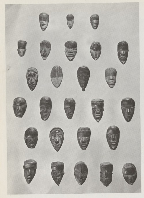 lightlythrown:  African Masks