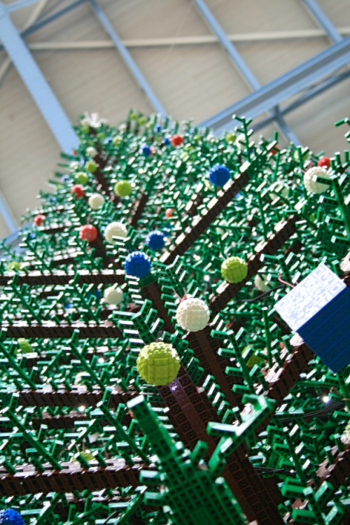 A Lego Christmas Tree