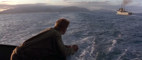 theartofmoviestills:  The Thin Red Line | Terrence Malick | 1998  Holy fuck what a coincidence. I just watched it for maybe the fifth time.