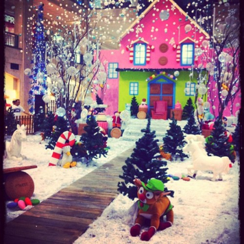 Where is Santa?  #xmas (Taken with instagram)
