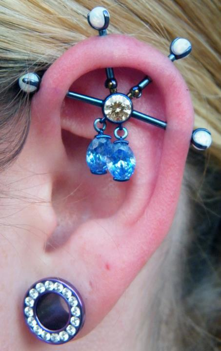 Jewelry from Industrial Strength— Piercer A.J. Goldman