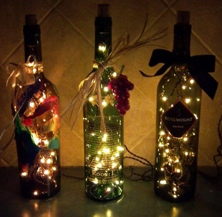 dyingofcute:  christmas bottles