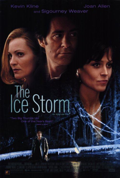 The Ice Storm (1997) P365 Film #359 Oh, how I miss slightly chubby-Christina Ricci. Anyway, this was a good film. I think it would've been more effective if I'd seen it when it came out. It feels like I've seen lots of similar films. American Beauty (1999) comes to mind in particular. They're both about seeing the ugly underside of family life. This film had a good cast and was very well-directed by Ang Lee. I really loved his attention to detail in this one. It perhaps didn't affect me as much as I would've liked, but it's by no means a bad film. Totally worth a watch.
