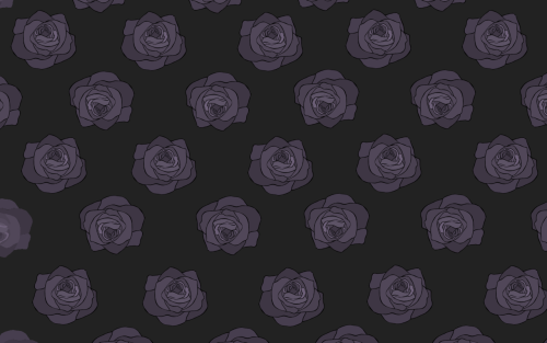 I really, really hate drawing roses But now i have a new wallpaper so its okay.