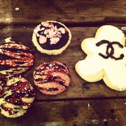 #baking #cookies #karllagerfeld #chanel (Taken with instagram)