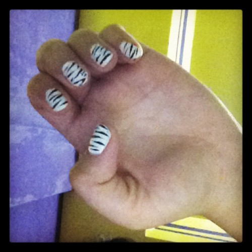 In love with my nails! ;) (Taken with instagram)