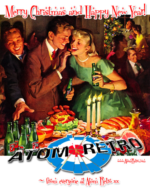 Merry Christmas and Happy New Year from everyone at Atom Retro!