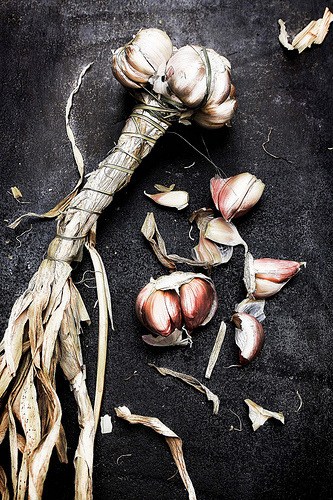 Pink garlic (by Mónica Isa Pinto)