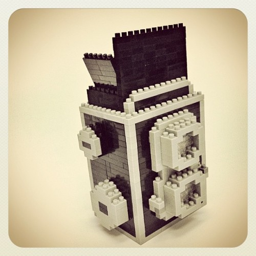 nanoblock Twin Lens Reflex (TLR) camera …