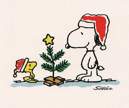 ckck:  Snoopy and Woodstock are too timeless to put in a Vintage Christmas post, so they get their own instead.