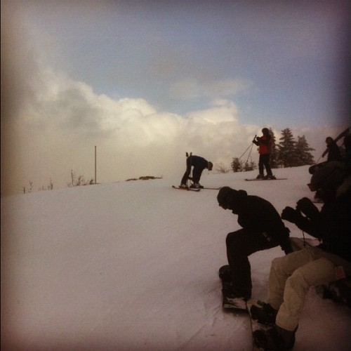 Above the clouds (Taken with Instagram at Lake Placid, NY)