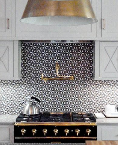 thedecorista:  Warm metals in the kitchen is such a fabulous trend…