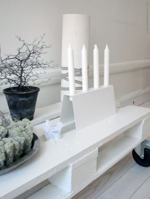 (via Vit advent | God Jul | Inspiration från IKEA)