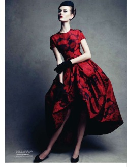 Jac by Patrick Demarchelier for Dior Couture